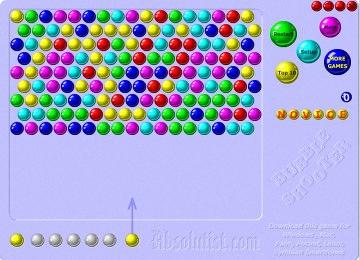 bubble shooter gratis online